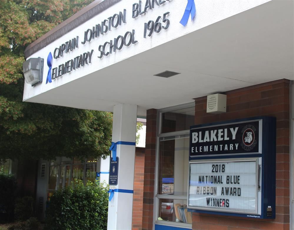 Blakely Elementary recognized as a National Blue Ribbon School