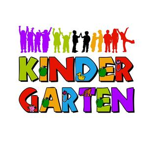 picture of the word kindergarten