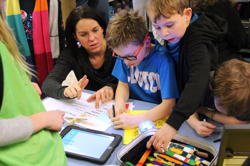 Blakely's Maker Faire engages families