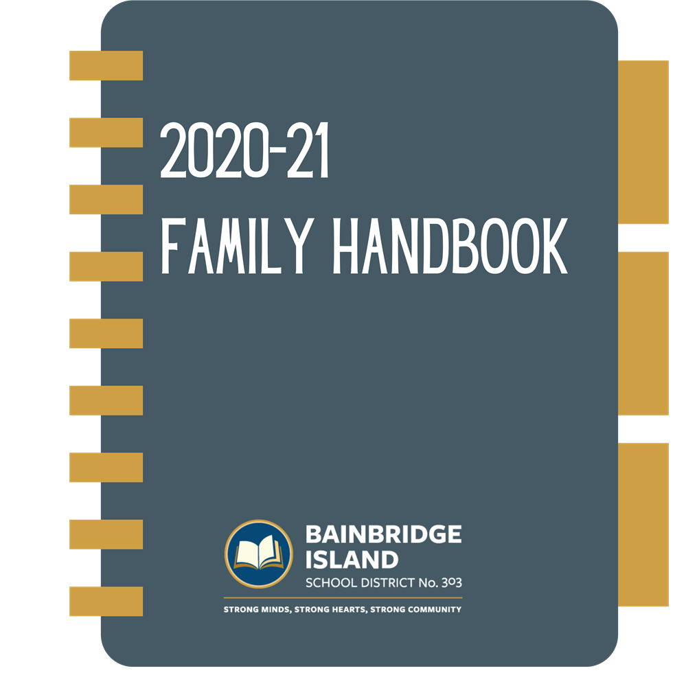 Cover of the 2020-21 Handbook