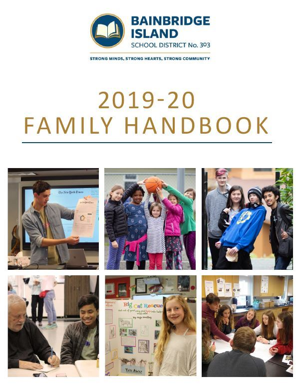 Cover of the 2019-20 Handbook