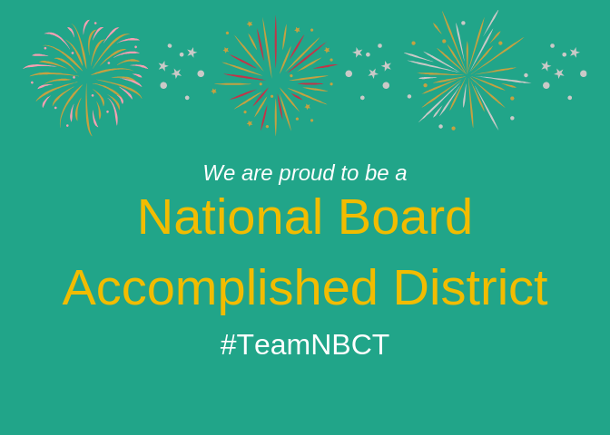 National Board Accomplishment