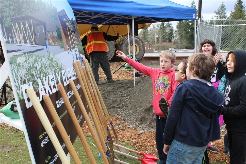 Thank you, Bainbridge Island Community -- A new Blakely Elementary is underway!