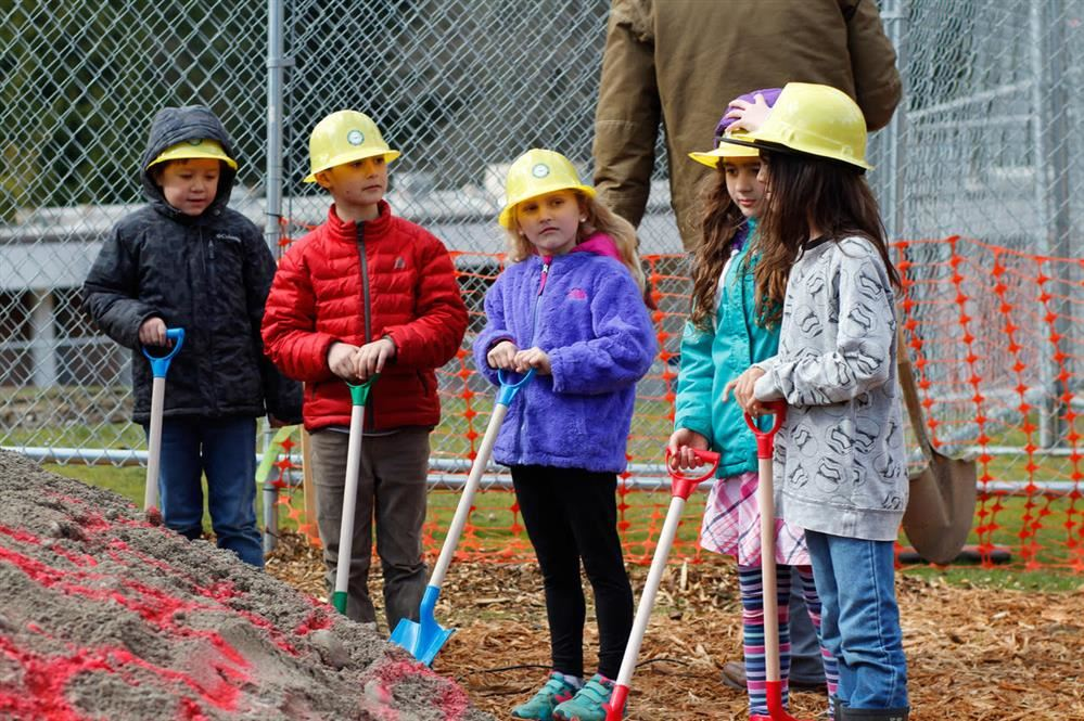 Blakely's Groundbreaking Ceremony in March 2018