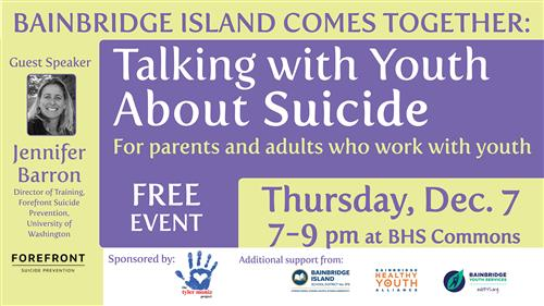 Talking with Youth About Suicide