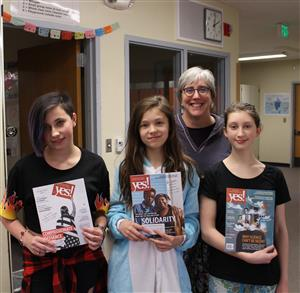 Odyssey 7/8 Students Place in National Writing Competion.