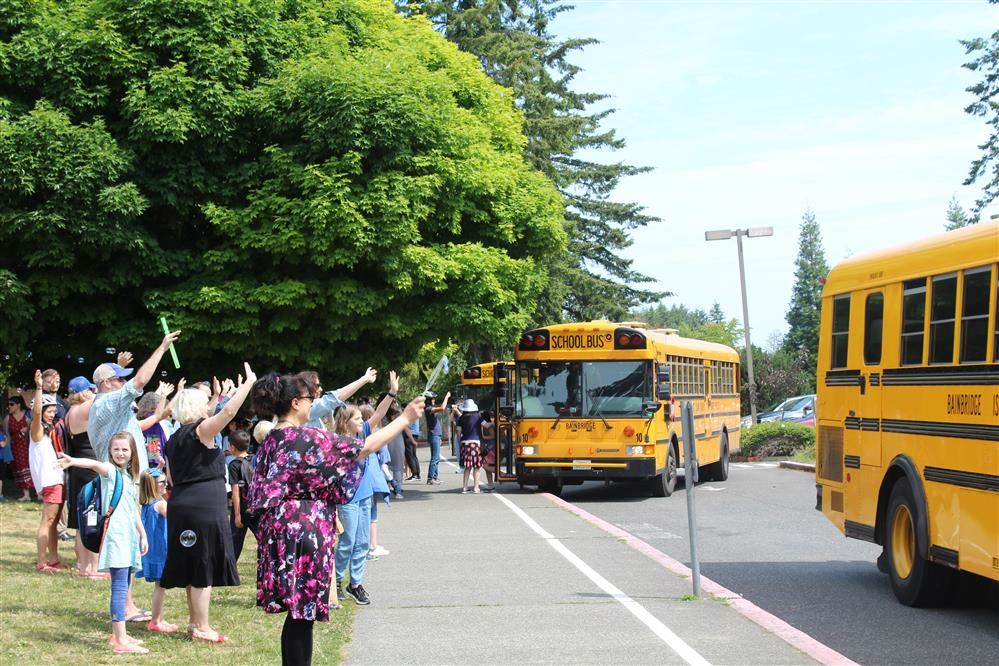 Bus drivers play an important role in our school district.