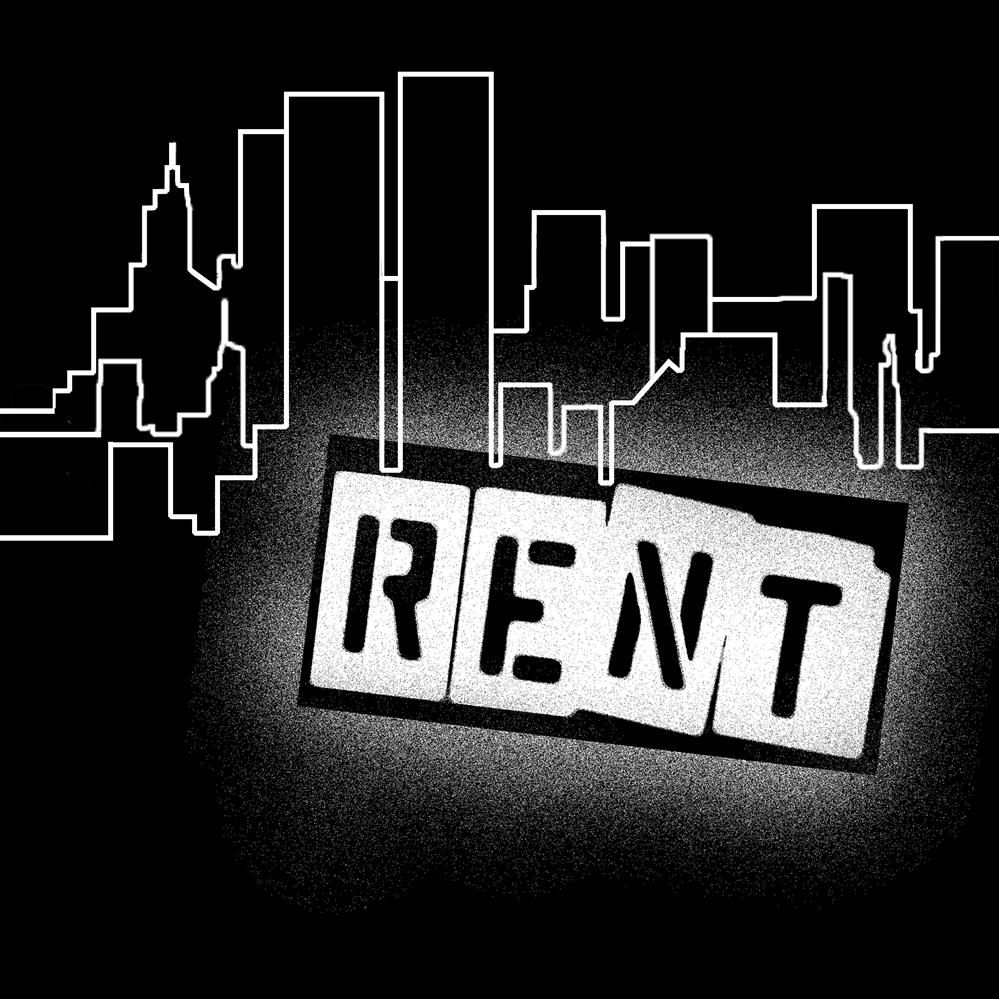 RENT T-shirt Logo