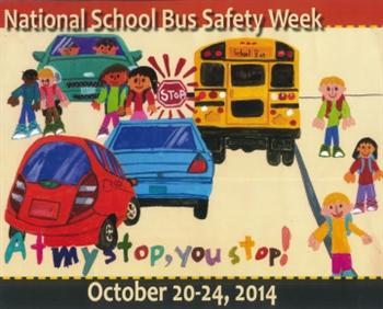 National School Bus Safety poster