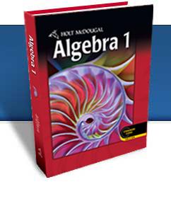 holt algebra 1 pdf